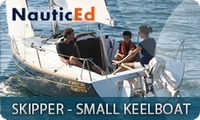 NauticEd Skipper Small Keelboat Certification