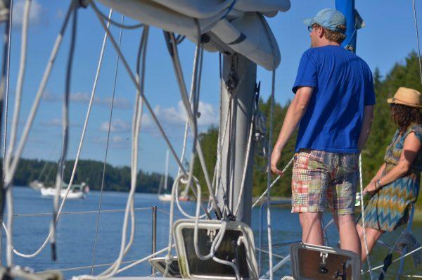 Gig Harbor Bareboat course is a mini charter