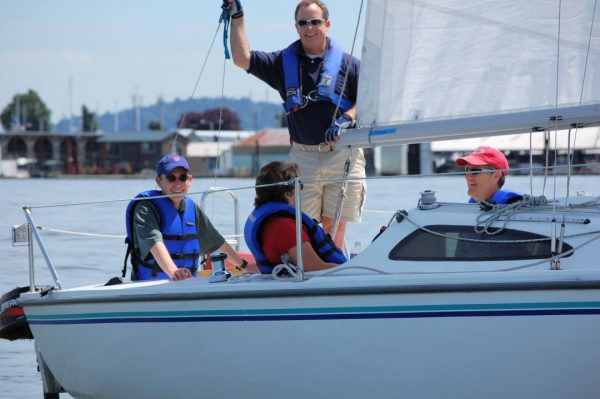 learn to sail and earn skipper small keelboat certification