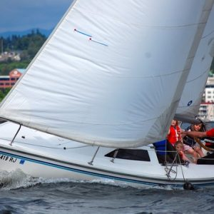 Learn to sail with Island Sailing's basic sailing course. Includes NauticEd Skipper Small Keelboat certification.
